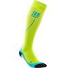 cep Run 2.0 Socks Men lime/hawaii blue